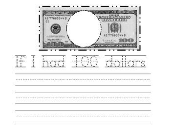 If I had 100 dollars