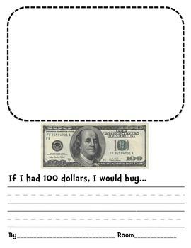 If I had 100 dollars...