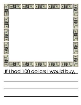 If I had 100 dollars I would buy...