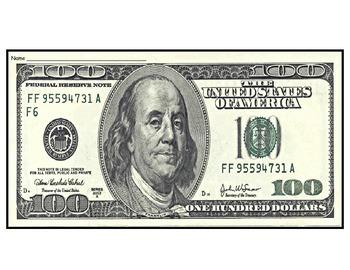 If I had $100 writing activity