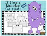 If I had a Pet Monster- Writing Activity