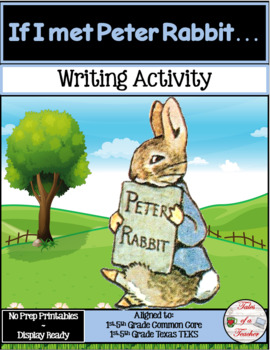 If I met Peter Rabbit... ~ Writing Activity