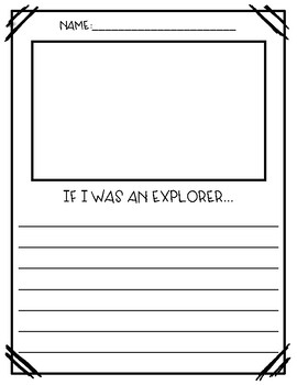 If I was an explorer...