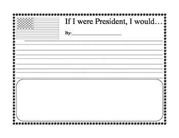 If I were President I would...