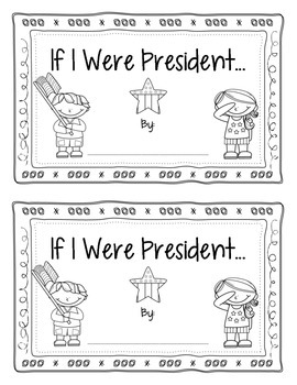 If I were President - Interactive Book