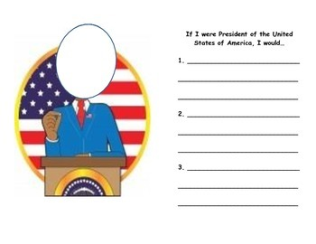 If I were President, printable