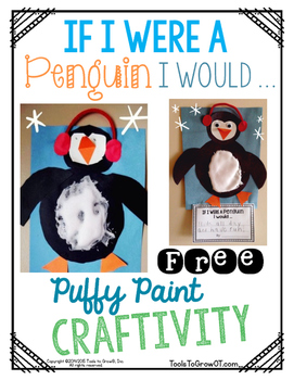 If I were a Penguin I Would .... Craftivity