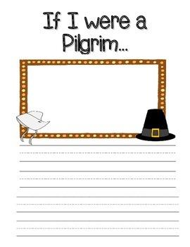 If I were a Pilgrim Writing Stationary