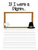 If I were a Pilgrim Writing Stationary