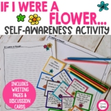 If I were a flower... Self-Awareness writing and drawing activity