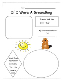 If I were a groundhog writing activity