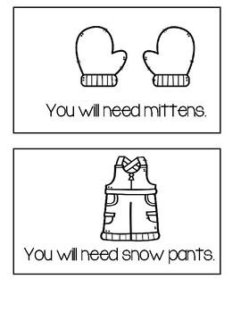 If It Snows - Winter Reader