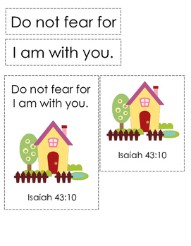 If Jesus Came to My House (Isaiah 43:10) Bible Verse Printable