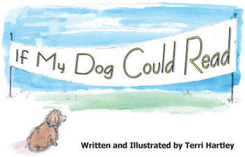 If My Dog Could Read -- primary fiction/beginning reader book w/song