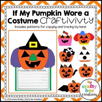 If My Pumpkin Wore a Costume Craftivity