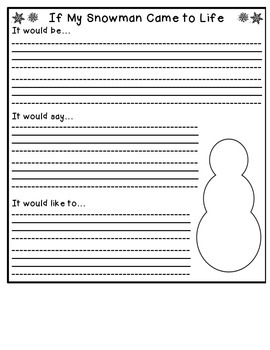 If My Snowman Came to Life