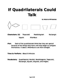 If Quadrilaterals Could Talk - Small Group Reader's Theater