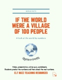 If The World Were A Village Of 100 People. Global Issues.