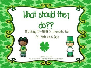 If-Then Questions for St. Patrick's Day