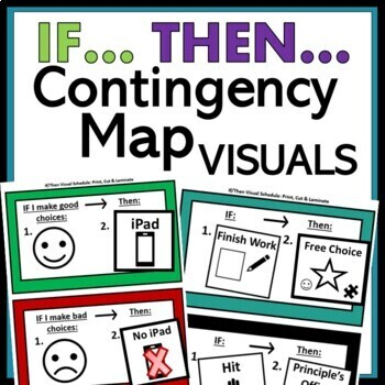 If, Then Visual Schedules: Special Education