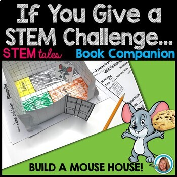 If YOU Give a Mouse a Cookie STEM Challenge | Build a MOUSE HOUSE
