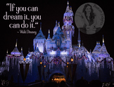If You Can Dream It, You Can Do It - Walt Disney Quote - Motivational Poster