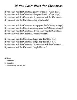 If You Can't Wait for Christmas (includes mp3 files)