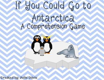 If You Could Go to Antarctica Comprehension Game Kindergarten