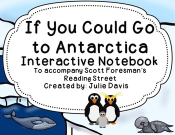 If You Could Go to Antarctica Interactive Notebook Journal