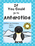 If You Could Go to Antarctica, Kindergarten, Centers and Printables
