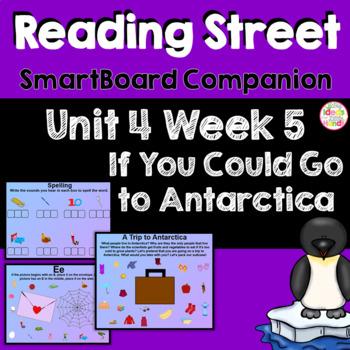 If You Could Go to Antarctica SmartBoard Companion Kindergarten