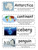 If You Could Go to Antarctica Vocabulary Cards