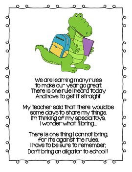 If You Ever Want to Bring an Alligator to School, DON'T!  - Read Aloud
