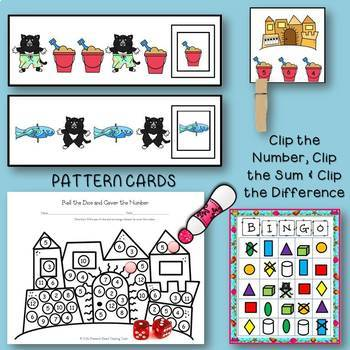 If You Give A Cat A Cupcake Summer Literacy & Math Activities