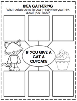 If You Give a Cat a Cupcake Crafts and Activities!