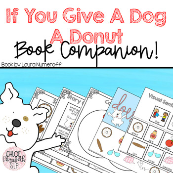 If You Give A Dog A Donut Book Companion!