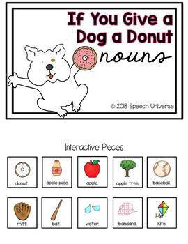 If You Give A Dog A Donut Mini Book Companion