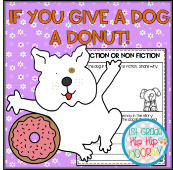 crafts and activities to accompany if you give a dog a donut tpt. Black Bedroom Furniture Sets. Home Design Ideas