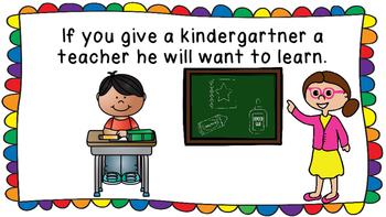 If You Give A Kindergartner A Teacher Book