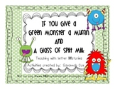 If You Give A Monster A Muffin -Letter M books