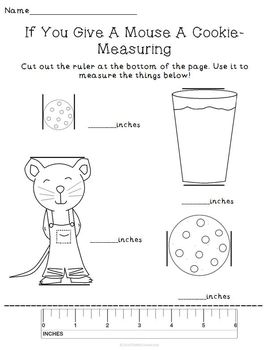 If You Give A Mouse A Cookie Activity Set Pack Reading Math Writing