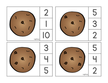 If You Give A Mouse A Cookie Clip Cards
