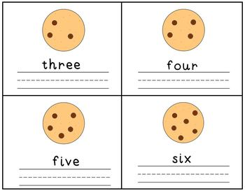 If You Give A Mouse A Cookie Emergent Reader  Number Writing Practice Set
