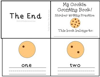 If You Give A Mouse A Cookie Emergent Reader  Number Writi
