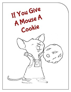 If You Give A Mouse A Cookie Interactive Booklet