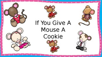 If You Give A Mouse A Cookie Literature Packet