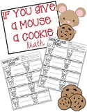 If You Give A Mouse A Cookie Math- More or Less