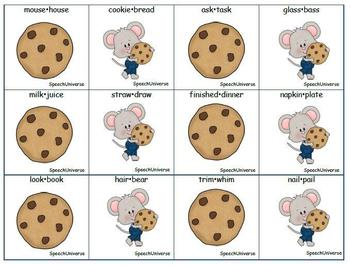 if you give a mouse a cookie phonemic awareness book companion