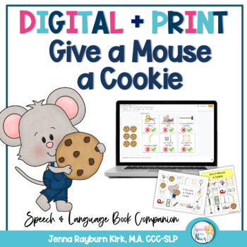 BOOK A MOUSE COOKIE GIVE IF A YOU