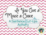 If You Give A Mouse A Cookie - Vocabulary Cards and Senten